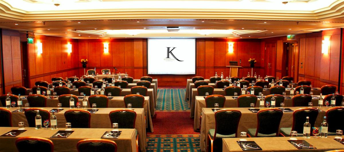 Milton & Keats room - Theatre style